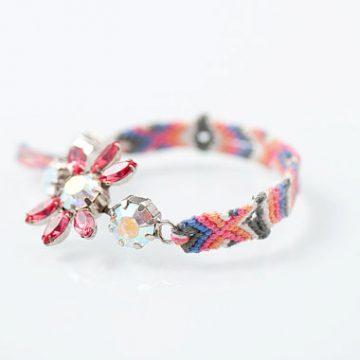 via etsy.com/listing/81045803/friendship-bracelet-with-swarovski