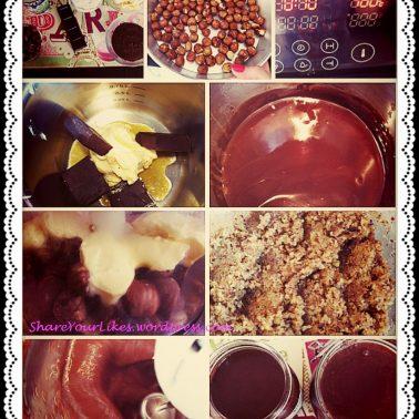 steps for homemade merenda