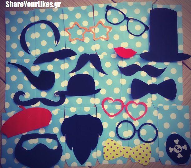 moustache set
