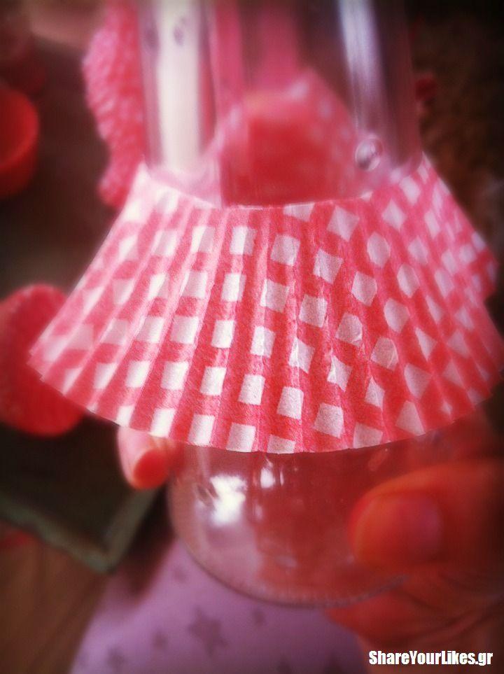 cupcake xmas δεντράκι-diy step3