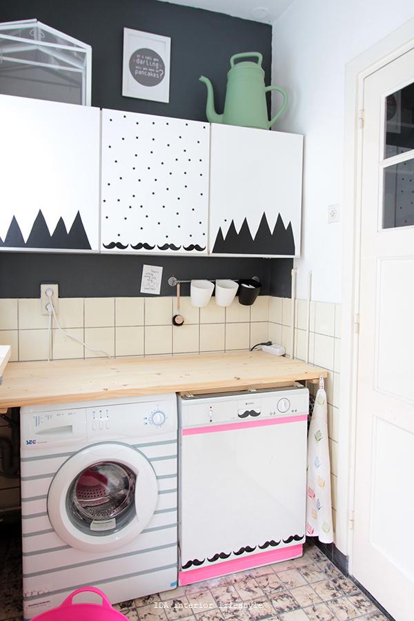 via http://www.idainteriorlifestyle.com/2014/01/laundry-room-makeover.html