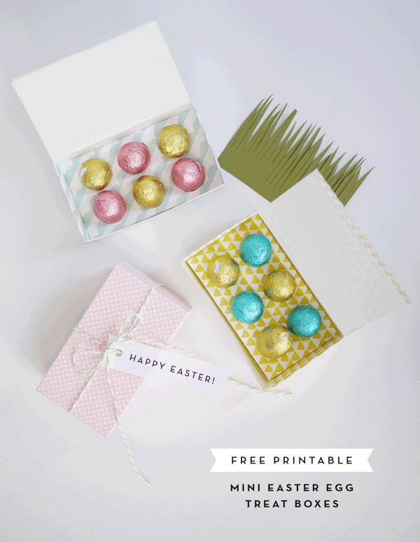 κουτί πασχαλινό για αυγά σε συσκευασία δώρου_δωρεάν εκτυπώσιμο