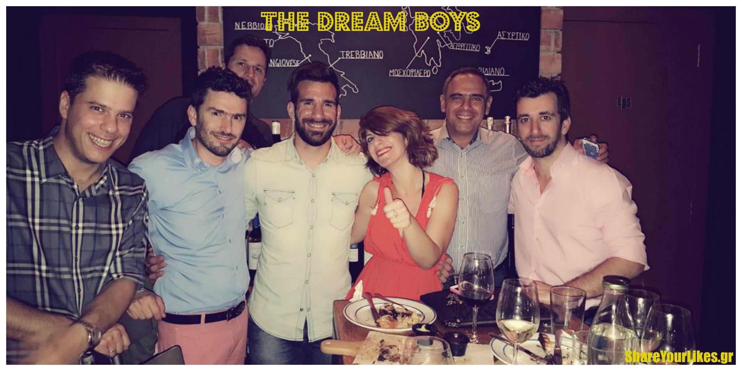 dream boys Collage