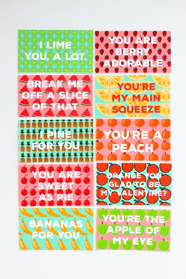 fruit valentine_free printables