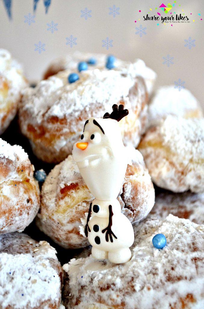 frozen-olaf_tourta-me-donuts