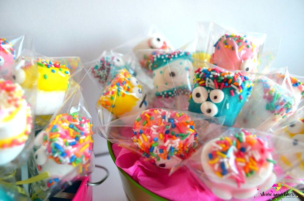 marshmallow pops_paidika genethlia_kerasma_glykisma_terataki_monster