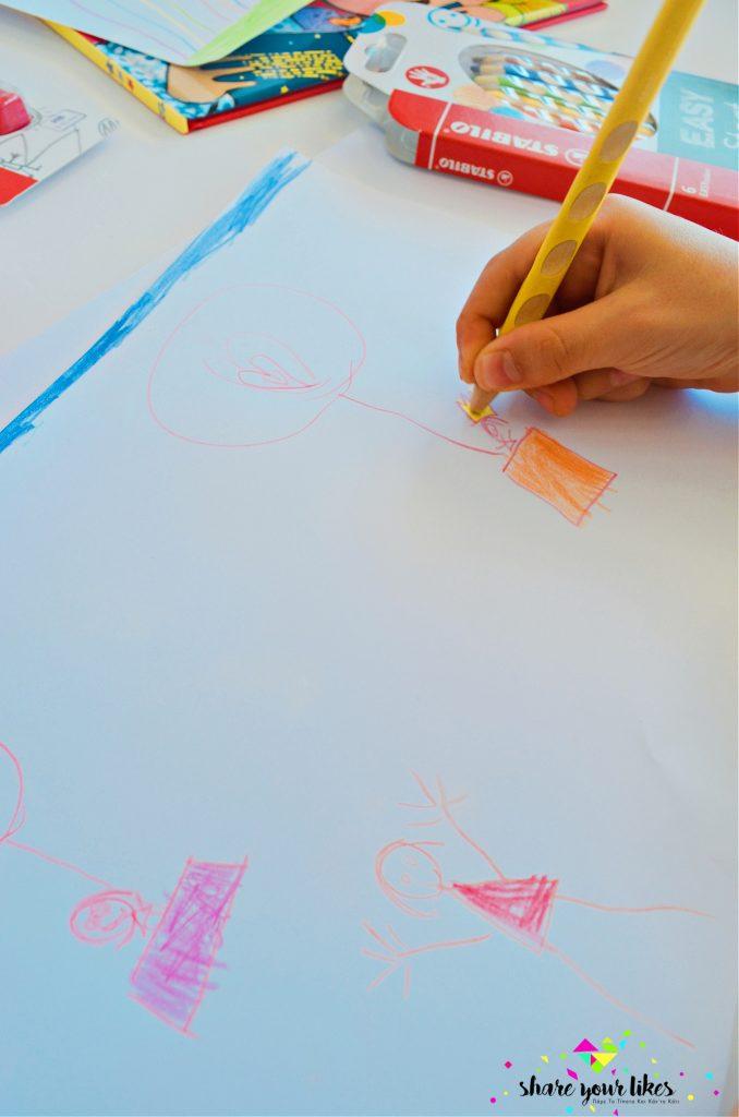 παιδικές ζωγραφιές για σχολικές ετικέτες βιβλίων τετραδίων1