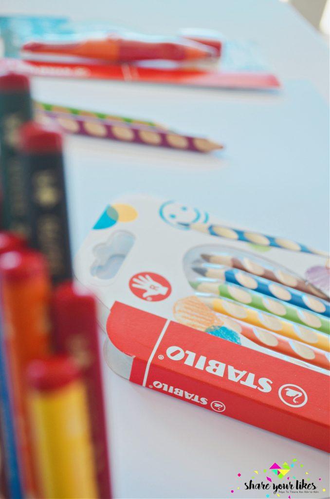stabilo μολύβια easystart easycolors easygraph 11